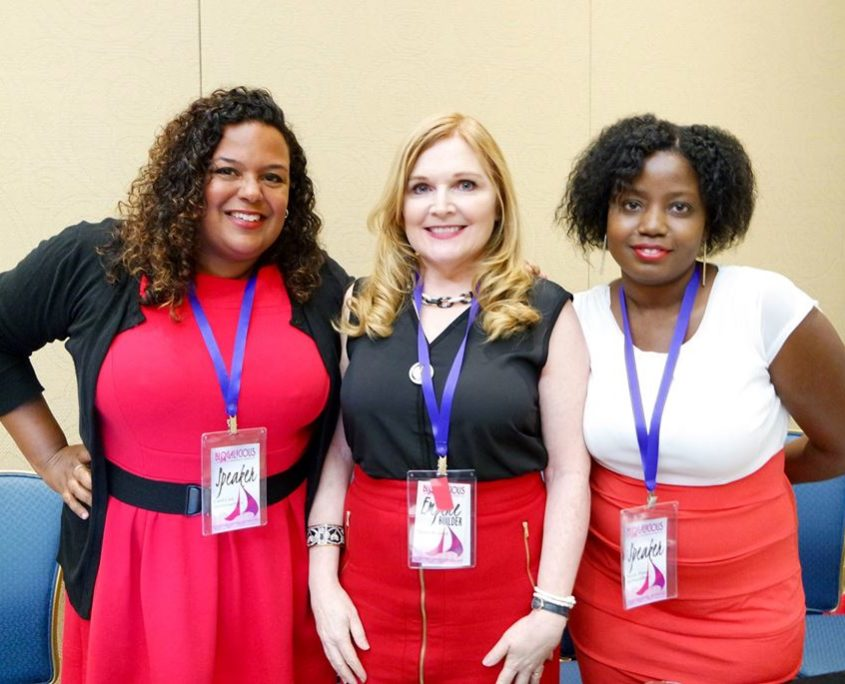 Danica and Bloggers at Blogalicious
