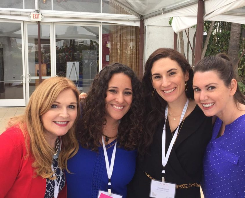 Danica Kombol and Latina Influencers at #WeAllGrow Summit
