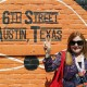 Danica Kombol - 6th Street - Austin, Texas Mural - Peace Sign