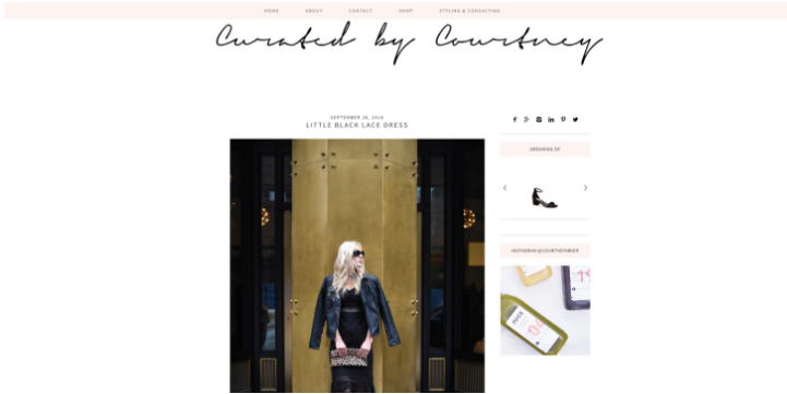 Curated by Courtney