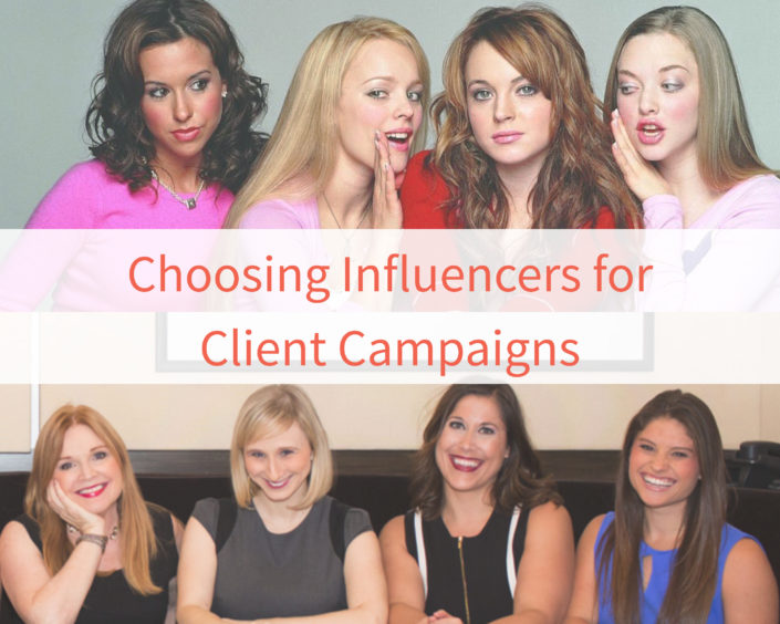 Choosing Influencers for Client Campaigns