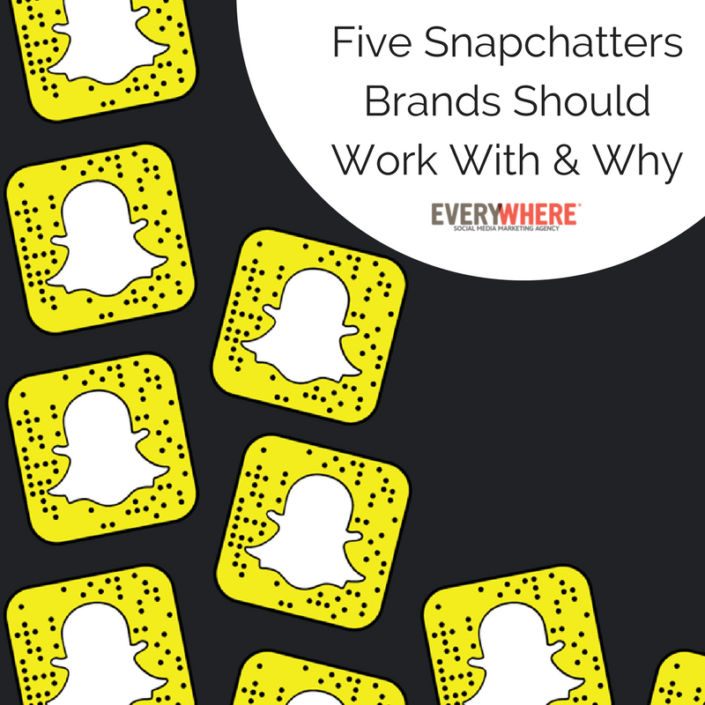 five snapchat influencers