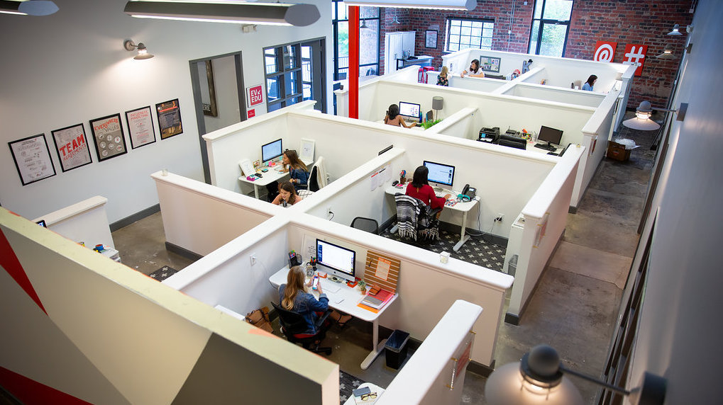 Overhead view of Influencer Marketing Agency